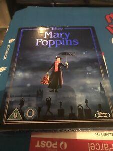 Mary Poppins 50th Anniversary Edition Blue Ray Sealed