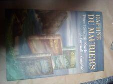 Daphne Du Maurier's Three Romantic Cornwall Novels Complete HC DJ 1942 Rabecca+