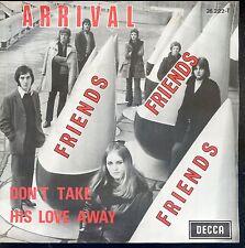 7inch ARRIVAL friends BELGIUM 60'S EX +PS