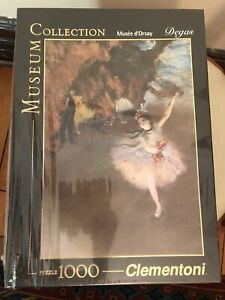 1000 PIECE PUZZLE (DEGAS) MUSEUM COLLECTION - BRAND NEW IN WRAPPING