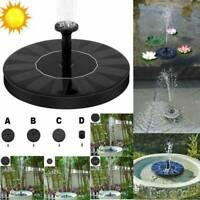 SolarPumpe Teichpumpe Solar Springbrunnen Wasserspiel Zierbrunnen Garten Fontäne