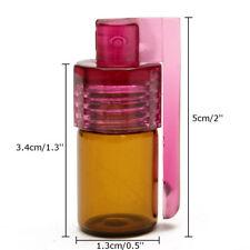 Acrylic Snuff Bullet Bottle Snorter small Bottle Snuff Rocket Sniff Dispenser