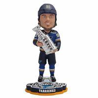 Vladimir Tarasenko St. Louis Blues 2019 Stanley Cup Champions Bobblehead NHL