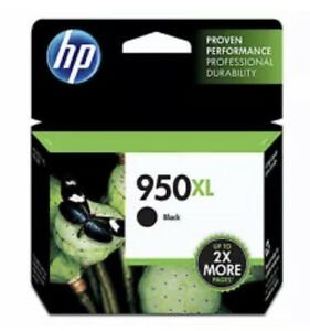 HP 950XL High Yield Ink Cartridge - Black New!! OEM!! Exp 12/22