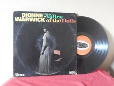 "Dionne Warwick: Valley Of The Dolls 12"" 33 Rpm Lp (song titles listed)"
