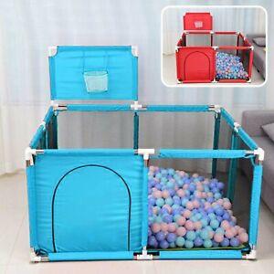 Baby Playpen Children Toddler Kids Indoor Play Pen Ball Pool Basket UK