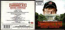 Farenheit 9/11 soundtrack cd- JJ Cale,Neil Young,Jethro Tull,Eric Burdon,REM +