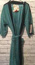 NWT Target BATH ROBE Unisex Teal Black King Robes Old Stock MCM Look