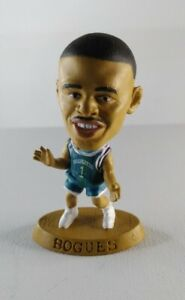 Corinthian Muggsy Bogues Charlotte Hornets 1997 NBA Mini Figure Basketball
