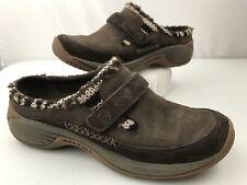 Merrell Encore Echo Womens Shoes Brown Coffee Bean Slip-On Moc Clog Size 7.5