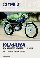 CLYMER SERVICE MANUAL YAMAHA DT400 1977-1978, MX100 1979-1983, MX175 1979-1981