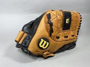 "Wilson XL Leather Softball Glove Mitt 13"" A0525 XL13 RHT"