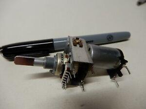 Alps? Motorized Potentiometer Dual Pot 50K Audio Taper? 3-6 VDC Motor?