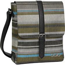 OGIO 114018.788 Ava Sedona Leather canvas Tablet ipad Purse Slingbag handbag bag