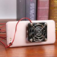 Universal Portable Mobile Phone Tablet Cooler USB Cooling Fan for Mobile Gaming