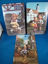M.J. Hummel Goebel Pictura Riocolor Ars West Germany Set of 3 Pictures @4