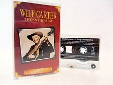 WILF CARTER The Anthology - 1997 Cassette Tape