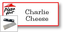 1 NAME BADGE FUNNY HALLOWEEN COSTUME PIZZA HUT CHARLIE CHEESE MAGNET SHIPS FREE