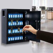 Key Cabinet Storage Safe Security Lock 40 Keys Holder Box Wall Mounted Organizer