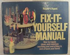 1977 Readers Digest Fit -It Yourself Manual Book