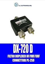 FILTRO DUPLEXER HF/VHF/UHF DX-720D CON CONNETTORI PL-259  874011