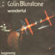 "COLIN BLUNSTONE - Wonderful (1974 VINYL SINGLE 7"" GERMAN PS)"