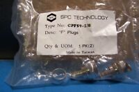 SPC CPF59-1/8 F Plug Connector 2pcs