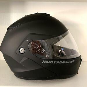Harley-Davidson® Mens Mod Helmet 3XL Capstone Sun Shield Matte Black 98370-15V