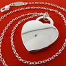 Necklace Chain Genuine Real 925 Sterling Silver S/F Ladies Heart Pendant Design