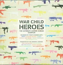War Child Heroes Cover Album - Elbow/U2/Kooks Card Promo Full Album Cd Ottimo