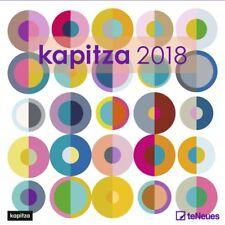 CALENDRIER 2018-KAPITZA- 30 x 30 cm