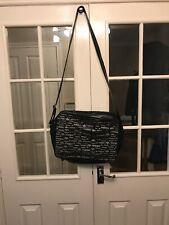 Black Addidas Mens Shoulder Bag suitable for carrying a laptop or light items.