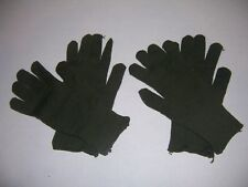 2 new pair military wool gloves made USA size mens SMALL cold weather glove