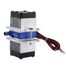 DIY Thermoelectric Peltier Refrigeration TEC1-12706 Cooler Water Cooling 144W MF