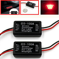 Vehicle Car Gs-100A Led Brake Stop Light Strobe Flash Module Controller Box LI