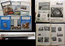 L'ELETTROTECNICA giornale AEI _ II TRIMESTRE 1941 (6 num)_ BREDA _ S. GIORGIO Ge