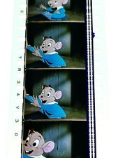 The Great Mouse Detective 35mm Cinema Film Unmounted Cell 10 Frames Walt Disney