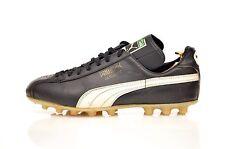 vintage PUMA 'Alicante' Football Boots size UK 8 rare OG 70s black leather