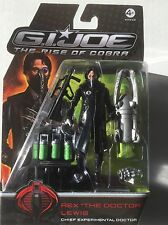 "G I JOE REX ""The Doctor"" LEWIS Chief Experimental Doctor Action Figure 3.75"""
