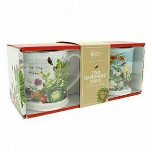 Gardeners Mugs-Royal Horticultural Society RHS Tea Coffee Mugs Set of 2.F&F