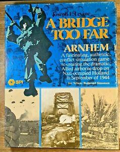 A Bridge Too Far- Arnhem, SPI Circa 1976 (UNPUNCHED & COMPLETE) (G5009)