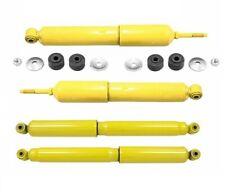 For GMC Sierra 2500 1500 HD Rear & Front Shock Absorbers KIT Monroe 34690 34504