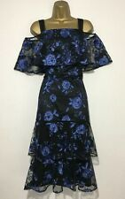 BNWT Stunning Coast Cruella Embroidered Dress Occasion Party Dress Size 18
