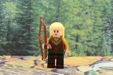 Lego Mini Figure Hobbit Legolas Greenleaf 2-Sided Head Lord of the Rings 79001