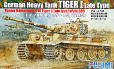 "Fujimi SWA04 Special World Armor ""Tiger I Late Type"" 1/76 scale kit"