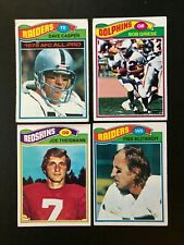 Huge 430-card lot of 1977 Topps Football - Casper Rookie, other stars, commons
