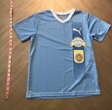 Boys' Puma Argentina Light Blue T-Shirt (S)