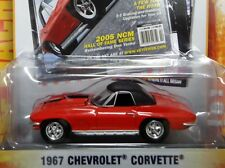 GREENLIGHT~1967 CHEVROLET CORVETTE~w/Opening Hood and Rubber Tires