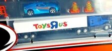 Toys R Us Exclusive Fast Lane Semi Truck Hauler-Tractor-Trailer-and case NEW HTF
