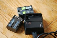chargeur batterie CANON 300D, 400D, 20D, 30D, 5D + 2 batteries